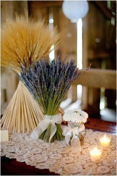 Top Lavender Centerpieces Wedding Table Decorations https://bridalore.com/2017/08/28/lavender-centerpieces-wedding-table-decorations/