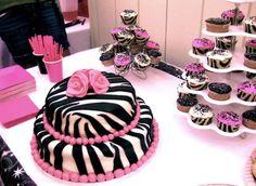 Zebra cake! ❤