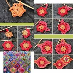 Transcendent Crochet a Solid Granny Square Ideas. Inconceivable Crochet a Solid Granny Square Ideas. Crochet Shawl Free, Crochet Motifs, Granny Square Crochet Pattern, Crochet Squares, Crochet Blanket Patterns, Crochet Stitches, Knitting Patterns, Crochet Granny, Granny Squares