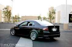 Another shot of this perfect Acura TL.