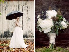 this is the other picture that inspired the color palette. neutrals with a hint of black.  I love the bouquet too, if it had a little pink in it, it'd be perfect.