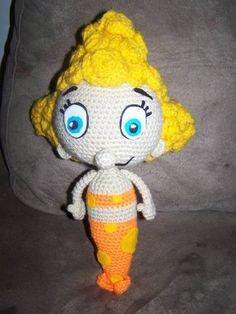 Deena from the Bubble Guppies - CROCHET