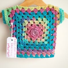 Discover thousands of images about Resultado de imagen para sweater crochet bear Crochet Bolero, Gilet Crochet, Crochet Jacket, Crochet Cardigan, Crochet Toddler, Baby Girl Crochet, Crochet For Kids, Diy Crochet, Crochet Baby Sweaters