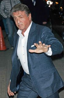 Times Square Gossip: SYLVESTER STALLONE VISITS NEW YORK CITY