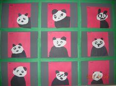 Art activity to go with Panda Bear, Panda Bear by Eric Carle Bear Activities Preschool, Preschool Books, Preschool Crafts, Preschool Activities, Book Activities, Panda Bear Crafts, Panda Craft, September Themes, February