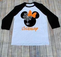 58d3ba4e8 Halloween Disney 2019! Minnie Disney Inspired Adult Shirt, Disney Family  Shirts, Minnie Shirt, Adult Disney Shirts