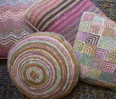 """Maison ... Déco chez """"Elle tricote"""""""