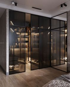 Modern Luxury Bedroom, Bathroom Design Luxury, Luxurious Bedrooms, Wardrobe Room, Wardrobe Design Bedroom, Home Room Design, Home Interior Design, Closets Pequenos, Casa Milano