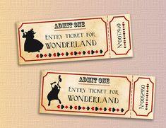 20 DIY Alice in Wonderland Tea Party Wedding Ideas & Inspiration Wonderland Costumes, Alice In Wonderland Printables, Alice In Wonderland Tea Party, Mad Hatter Party, Mad Hatter Tea, Mad Hatters, Sweet 16 Themes, Alice Tea Party, Invitations