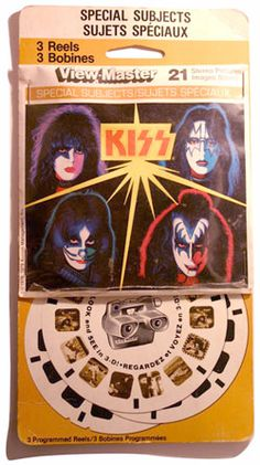viewmaster reels - KISS!!!! You know you're a bad ass band if you've made Viewmaster! KISS ARMY RULES!