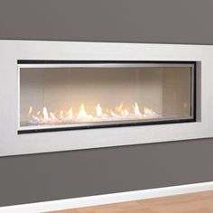 A modern fire will bring warmth and elegance to your lounge Gas Wall Fireplace, Wall Mount Electric Fireplace, Bedroom Fireplace, Modern Fireplace, Living Room With Fireplace, Fireplace Surrounds, Living Room Modern, Home Decor Inspiration, Decoration