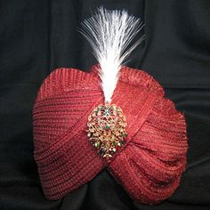 Designer Kalgi with Feather - Available in all the crafted kalgis and different colour Kalgi with feather combinations.