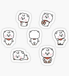 Buy Baby MANG Set' by as a Sticker, Transparent Sticker, or Glossy Sticker Pop Stickers, Tumblr Stickers, Printable Stickers, Bts Home Party, Bts Book, Kpop Diy, Unicorn Stickers, Kpop Drawings, Aesthetic Stickers