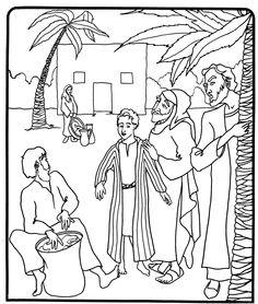 JOSEPH livre avec des coloriages - Biblenfant