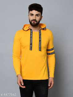 Tshirts Designer Men T-Shirts Fabric: Cotton Sleeve Length: Long Sleeves Pattern: Printed Multipack: 1 Sizes: S (Chest Size: 36 in Length Size: 27 in)  XL (Chest Size: 42 in Length Size: 30 in)  L (Chest Size: 40 in Length Size: 29 in)  M (Chest Size: 38 in Length Size: 28 in) Country of Origin: India Sizes Available: S, M, L, XL   Catalog Rating: ★4 (486)  Catalog Name: Trendy Men Tshirts CatalogID_646305 C70-SC1205 Code: 972-4477942-576