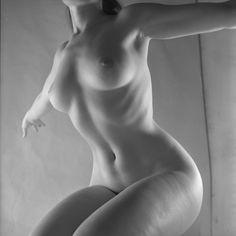 """1951 Nude Peter Basch 2 1/4"""" Negative Photograph Pin-Up Bettie Page Unpublished"""