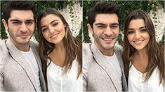 Burak Deniz and Hande Erçel in Ask Laftan Anlamaz Murat And Hayat Pics, Tv Awards, Hande Ercel, Turkish Beauty, Turkish Actors, Best Couple, Best Actor, Woman Crush, Couple Goals
