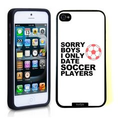 SudysAccessories I Only Date Soccer Players Thinshell Case Protective iPhone 5 Case iPhone 5S Case, http://www.amazon.com/dp/B00FYVAXCU/ref=cm_sw_r_pi_awdm_XeAntb1Q87BE1