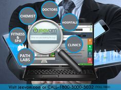 Search & connect with the biggest network of Doctors, Chemists, Labs, Spa and other healthcare services with a click via our web platform Jeevom and Book an Online Appointment easily and instantly.