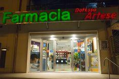 Farmacia Artese - AGELL Arredamento Farmacie e Ottici Neon Signs, Pharmacy