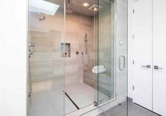 Walk in Shower Designs (Ultimate Guide) - Designing Idea Staining Wood Floors, Types Of Wood Flooring, Large Bathrooms, Small Bathroom, Bathroom Ideas, Bathroom Designs, Shower Cabinets, Grey Wall Color, Shower Sizes