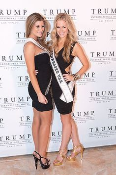Miss New Mexico USA 2013, Kathleen Danzer; and Miss Tennessee USA 2013, Brenna Mader | #MissUSA