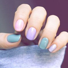 Want one of these new colours for my pedi. Spring Flowers