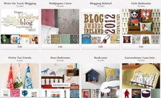 Pinterest Board Covers by @Lorna Sixsmith
