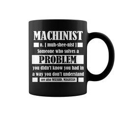 Machinist Gift Tee Funny Machinist Dictionary Term Mug #mug #ideas #image #photo #gift #mugcoffee