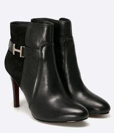 Botine Dama Tommy Hilfiger Cu Toc Elegante Tommy Hilfiger, Booty, Shoes, Fashion, Shoe, Moda, Swag, Shoes Outlet, Fasion