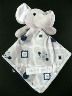 CARTER/'S CUDDLE PLUSH BLANKIE FOOTBALL BEAR BUNNY LADYBUG ELEPHANT LOVEY NEW NWT