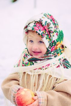 Little Russian girl in traditional shawl. #cute #kids ~ Sun 26th April 2015 ~✜❤✿ڿڰۣ ༻♡༻¤ ღ รฬєєt รย๓ἶ ღ ¤ ༻♡༻ ღ☀ჱ ܓ ჱ ᴀ ρᴇᴀcᴇғυʟ ρᴀʀᴀᴅısᴇ ჱ ܓ ჱ¸.•` ✿⊱╮ ♡ ❊ ** Buona giornata ** ❊ ✿⊱╮❤✿❤ ♫ ♥ X ღɱɧღ ❤ ~☀ღ‿ ❀♥♥~ Sun 26th April 2015 ~ ❤♡༻ ༻