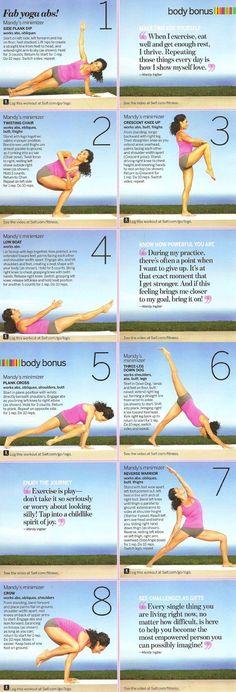 SELF Fab Yoga Abs | Yoga Workouts