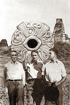The three Titans of Weird Tales on a little-known expedition to Central America.