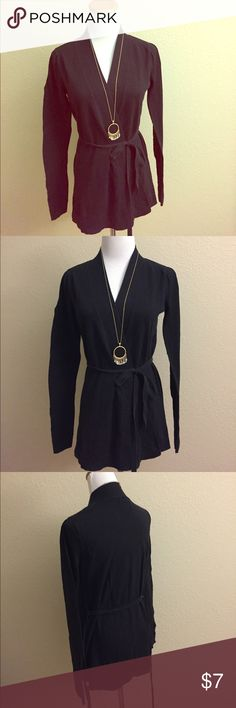 Wrap Cardigan Long sleeved wrap Cardigan with adjustable waist tie. Simply Vera Vera Wang Sweaters Cardigans