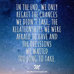 #inspiration #wordsofwisdom #wordstoliveby #takeaction #takechances #relationshipgoals #goals #psychic