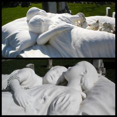 Brother and sister.... Swan point cemetery. Providence R.I.
