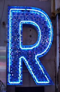 Neon sign by Chris Bracey