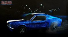 Ford Mustang 50 Anniversary Collaboration - Cake by Gilles Leblanc