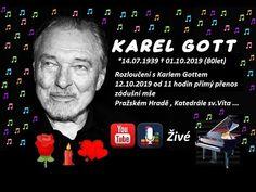Víta Pražského Hradu Rozloučení K. Gott Karel, Film, Youtube, Star, Technology, Musik, Movie, Film Stock, Cinema