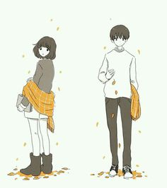 Image uploaded by Find images and videos about love, art and anime on We Heart It - the app to get lost in what you love. Manga Art, Anime Art, Art Mignon, Dibujos Cute, Couple Illustration, Couple Drawings, Cute Anime Couples, Couple Art, Aesthetic Art