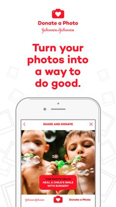 Turn your photos into a way to do good. Download now.