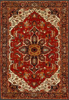 Turkish Serapi Oriental Rug #36725