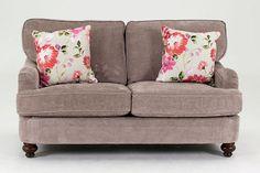Vida Living Sherlock 2 Seater Fabric Sofa - Mink