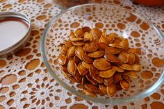 Mallory's Kitchen | Crunchy Toasted Pumpkin Seeds