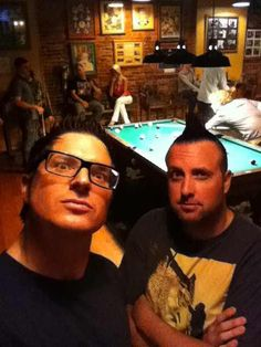 Zak Bagans and Billy Tolley