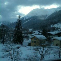 #Klosters all snowed in. #ski #travel #Switzerland