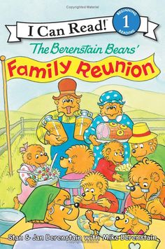 The Berenstain Bears' Family Reunion - an I Can Read story