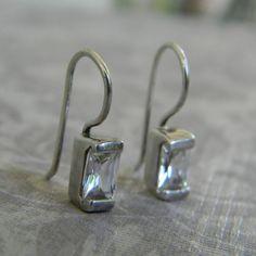 Vintage Sterling Silver Rhinestone Crystal by LoversLaneJewelry