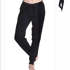 Black Pocketed Joggers Black soft cotton joggers with a waist drawstring and pockets.Super cute item! Nwot, all offers made through BLUE offer button considered . Special discount for bundling multiple items  Pants Track Pants & Joggers